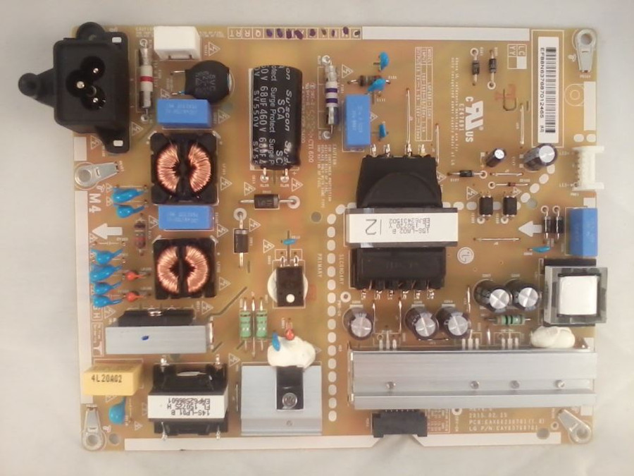 LG EAY63768701 Power Supply (front)