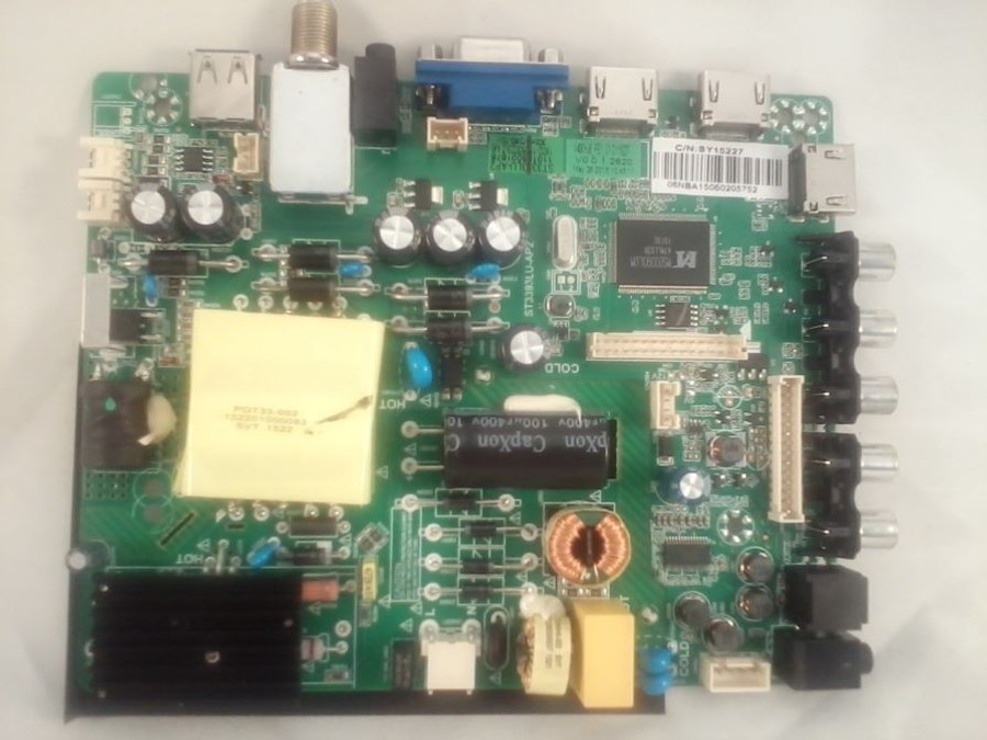 Element SY15227 Main Board / Power Supply for ELEFW408 (front)