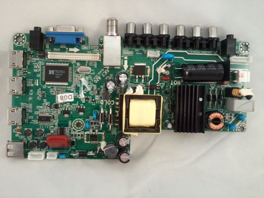 Hitachi Main Board / Power Supply (front)