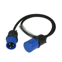 16 Aamp cable  1.5 Black Plug