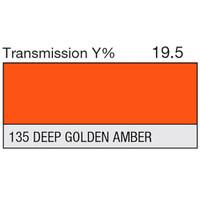 135 Deep Golden Amber