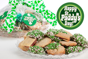 ST. PATRICK'S DAY - JoeyJoy Filled Sandwich Butter Cookies