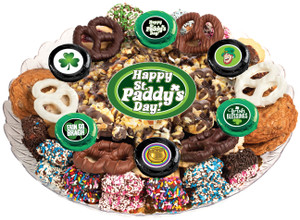 ST. PATRICK'S DAY - Gourmet Popcorn & Cookie Assortment Platters
