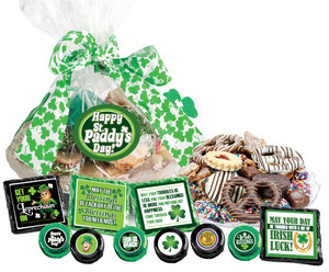"ST. PATRICK'S DAY - ""Cookie Talk' Message Platters"