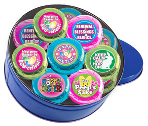 "EASTER/ SPRING - ""Cookie Talk""  Chocolate Oreos 16 Pc Tin"