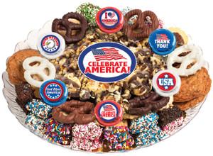 AMERICA - Gourmet Popcorn & Cookie Assortment Platters