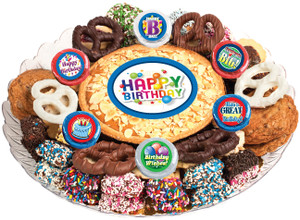 BIRTHDAY - Cookie Pie & Cookie Assortment Platters