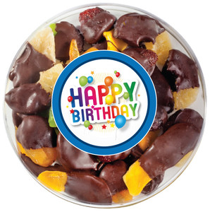 BIRTHDAY CHOCOLATE DIPPED DRIED FRUIT