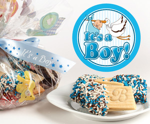BABY BOY - JoeyJoy Filled Sandwich Butter Cookies