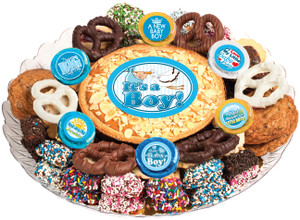 BABY BOY - Cookie Pie & Cookie Assortment Platters