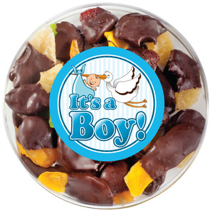 BABY BOY - Chocolate Dipped Dried Mixed Fruit