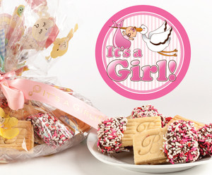 BABY GIRL - JoeyJoy Filled Sandwich Butter Cookies