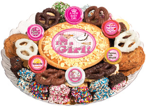 BABY GIRL - Cookie Pie & Cookie Assortment Platters