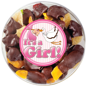 BABY GIRL - Chocolate Dipped Dried Mixed Fruit