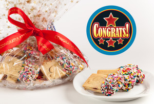 CONGRATULATIONS - JoeyJoy Filled Sandwich Butter Cookies