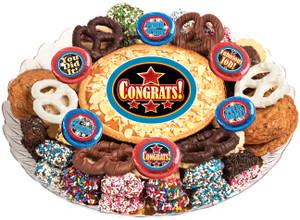 CONGRATULATIONS - Cookie Pie & Cookie Assortment Platters