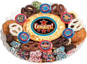 CONGRATULATIONS - Cookie Pie & Cookie Assortment Platters