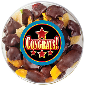 CONGRATULATIONS - Chocolate Dipped Dried Mixed Fruit