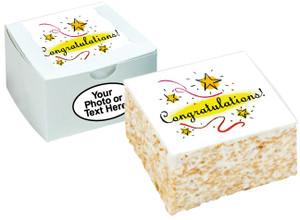 CONGRATULATIONS - Marshmallow Crispy Cake