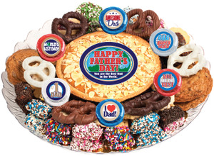 FATHERS DAY - COOKIE PIE & COOKIE ASSORTMENT PLATTERS