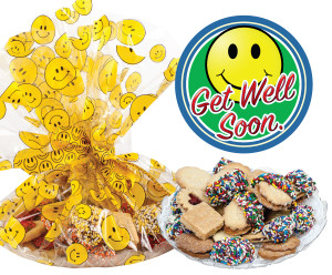 GET WELL BUTTER COOKIE ASSORTMENT