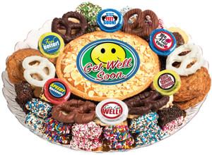 GET WELL - Cookie Pie & Cookie Assortment Platters