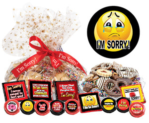 "I'M SORRY - ""COOKIE TALK"" MESSAGE PLATTERS"