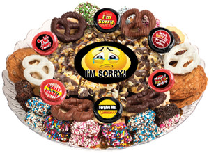 I'M SORRY - POPCORN & COOKIE ASSORTMENT PLATTER