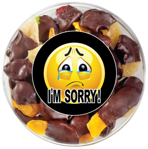 I'M SORRY - CHOCOLATE DIPPED DRIED FRUIT