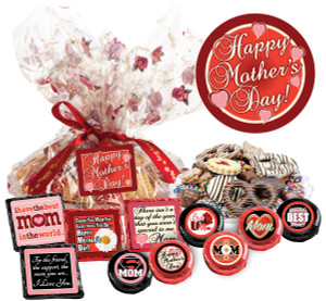 "MOTHERS DAY  ""Cookie Talk' Message Platters"