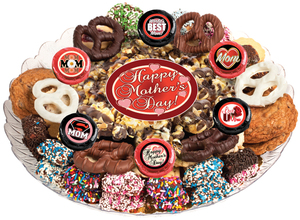 MOTHERS DAY - Gourmet Popcorn & Cookie Assortment Platters