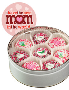 MOTHERS DAY  DECORATED CHOCOLATE OREO TIN
