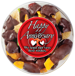 ANNIVERSARY - Chocolate Dipped Dried Mixed Fruit