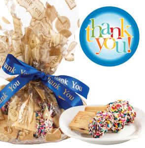 THANK YOU - JoeyJoy Filled Sandwich Butter Cookies