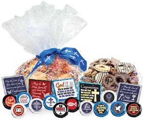 "COMMUNION/ CONFIRMATION - ""Cookie Talk' Message Platters"