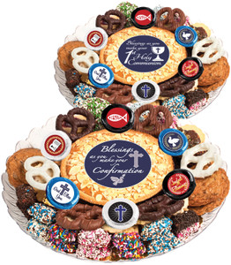 COMMUNION/ CONFIRMATION - Cookie Pie & Cookie Assortment Platters