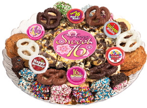 SWEET 16 - Gourmet Popcorn & Cookie Assortment Platters