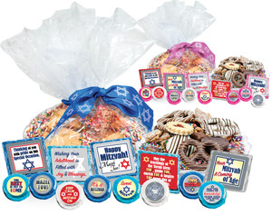 "BAR/ BAT MITZVAH - ""Cookie Talk' Message Platters"