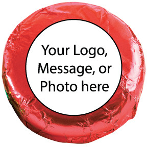 You can have any color foil-wrapping. Specify in the comments section of the Order Form or call Barb. If not, we will select a nice foil color that's compatible with your custom label.