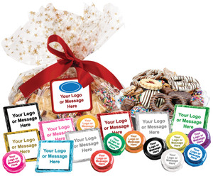 COOKIE TALK PLATTERS - YOUR CUSTOM  MESSAGES - Text, Logo, Photos