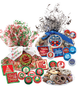 "CHRISTMAS /HOLIDAY  ""COOKIE TALK"" MESSAGE PLATTER"