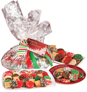 BUTTER COOKIE CHRISTMAS ASSORTMENT - Many Sizes Available