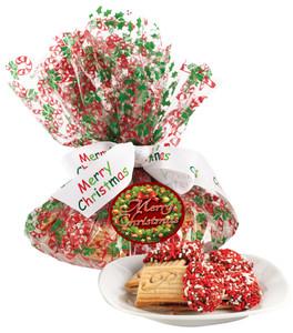 CHRISTMAS RASPBERRY SANDWICH BUTTER COOKIES
