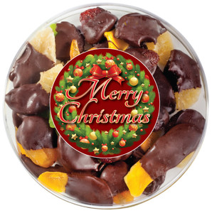CHRISTMAS - Chocolate Dipped Dried Mixed Fruit