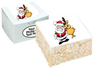 CHRISTMAS - Marshmallow Crispy Cake