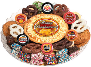 THANKSGIVING - Cookie Pie & Cookie Assortment Platters