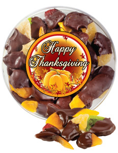 THANKSGIVING CHOCOLATE DIPPED DRIED FRUIT