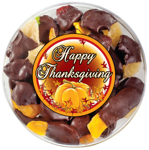 THANKSGIVING - Chocolate Dipped Dried Mixed Fruit