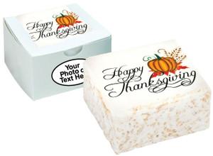 THANKSGIVING - Marshmallow Crispy Cake
