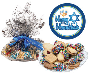 HANUKKAH  BUTTER COOKIE ASSORTMENT